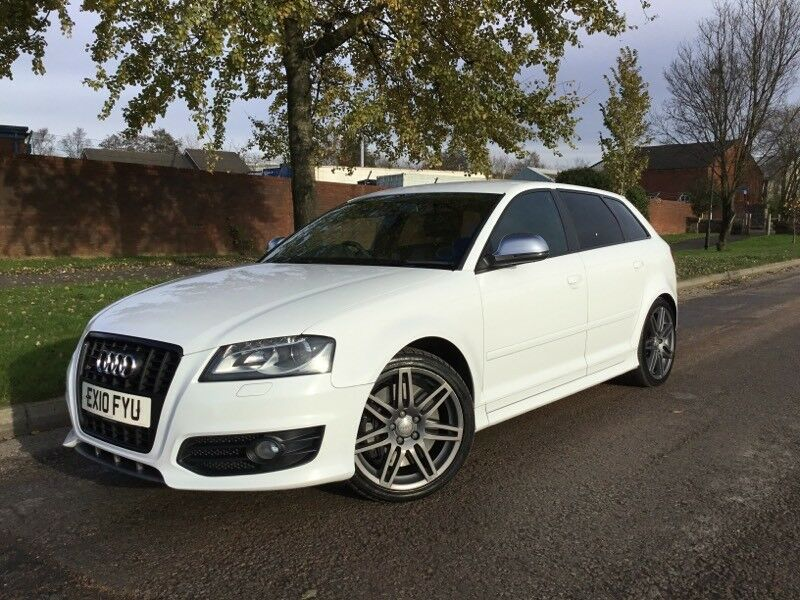 audi s3 black edition sportback s tronic 2010 10 reg ibis white only 13290 in ashton under. Black Bedroom Furniture Sets. Home Design Ideas