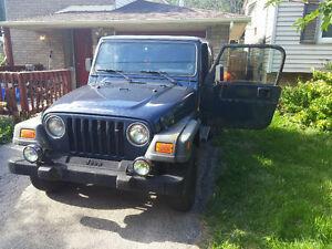 2001 Jeep TJ $3000 OBO As Is