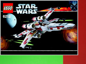 Set Lego Star Wars 6212 X-Wing Fighter BRIQUES TOYS JOUETS video