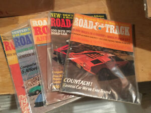 Road and Track magazines
