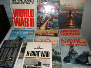 WORLD WAR  2  HARD COVER  BOOKS