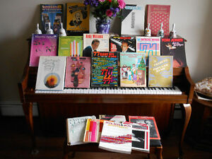Fifty+ Books of Piano Music
