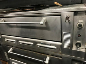 GARLAND DECK OVEN DOUBLE PIZZA OVEN