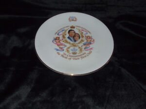 BEAUTIFUL PLATE TO CELEBRATE BIRTH OF LADY DIANA & PRINCE CHARLE