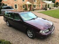 1998S Volvo V70 2.5 T automatic Petrol 5 Door Estate PURPLE METALLIC