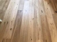 Antique hand scraped engineered European oak wood flooring