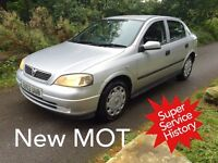 A Fantastic Runabout !!!! Vauxhall Astra 1.4 LSI - Viewing Essential