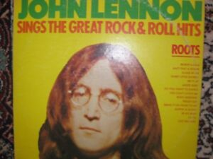 John Lennon Sings the Great Rock & Roll Hits. L P. 1975 Vinyl