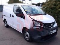 2014 nv200 parts breaking