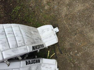Ice hockey goalie pads forsale asking 750 for them.