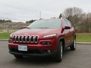 2015 Jeep Cherokee North 4X4, SUV, Power Liftgate, UConnect Nav