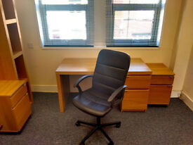 OFFICE AVAILABLE NOW - Close to Walsall and Wednesbury - WIFI Alarmed Secure Office for Rent To Let
