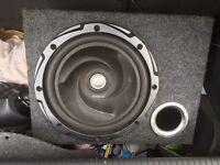 Kenwood sub & fusion Amp