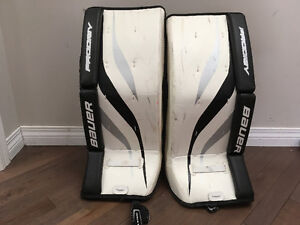 "Youth 24"" Bauer Prodigy Goalie Pads"