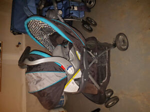 Stroller Set and Bouncy Chair