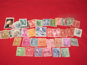 U.S. Stamps -- nearly 150 different, used