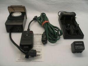 Minuteries - chargeurs de batteries - extention