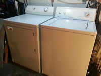 Washer & Dryer - both in good working order
