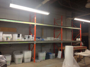 Warehouse shelving/racking for sale