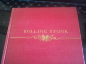 Rolling stone hardcover book 1 st edition by Fred stone