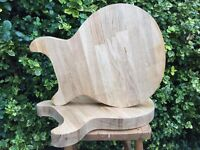 Les Paul style double cut - Chopping boards