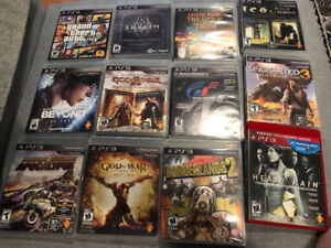 Playstation 3 game lot