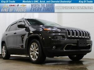 2015 Jeep Cherokee Limited | Htd\Cooled Seats | Nav | Sunroof