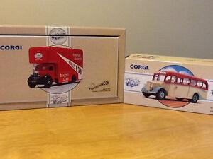 2 CORGI VEHICLES IN THEIR BOXES