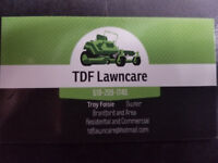 TDF Lawncare grass cutting and trimming