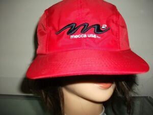 Vintage Mecca M2 USA DNM Baseball Cap: Brand New