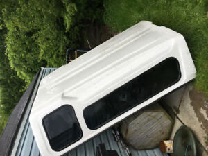 7ft White Pickup Truck Cap