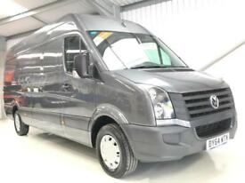 VW VOLKSWAGEN CRAFTER LOW MILEAGE GREY 2.0 136PS CR35 LWB AIR CON BIG 4.0M VAN
