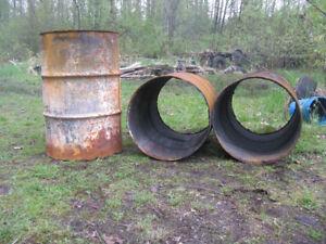 Burning Barrels