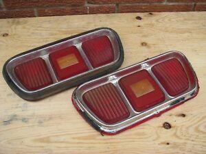 1973 Ford Mustang rear light lenses
