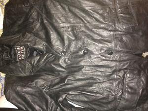 Manteau de cuir pas chers!!!!!