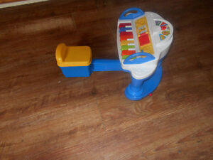 fisherprice musical toy with built in chair