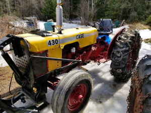 1960's CASE 430 tractor- $3500