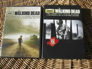Lot DVD : WALKING DEAD Season 2 & 6 – Version française INCLUSE