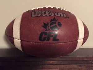 Looking to BUY a CFL Wilson football Tom Wright commissioner