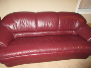 Palliser Leather Couch & Loveseat for only $1000