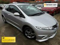 2011 11 HONDA CIVIC 1.4 I-VTEC TYPE S 3D 98 BHP (1 OWNER FROM NEW)