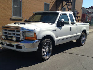 ford f250 1999 2x4. Diesel Mags 24 pouce