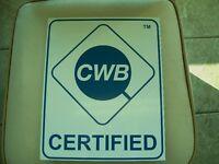 Welder- Fully Certified, ABSA, CWB, COR.