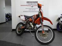 09 REG KTM 250 EXC 2 STROKE ENDURO BIKE GREEN LANE BIKE GOOD CONDITION RARE BIKE