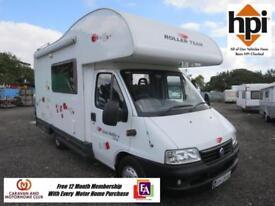 Roller Team Auto Roller 4/5 Berth Motor Home