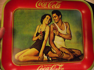 Coke Tray - Weismuller and O'Sullivan