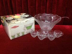Punch Bowl Set, CARNATION 27 PIECE-BOTH  BRAND NEW Windsor Region Ontario image 2