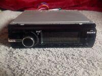 Sony head unit car radio headunit stereo USB aux cd player