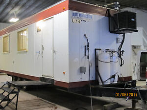10x28 Wheeled Office Trailer for Rent