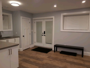 Basement appartment for rent very near qew and lake ontario